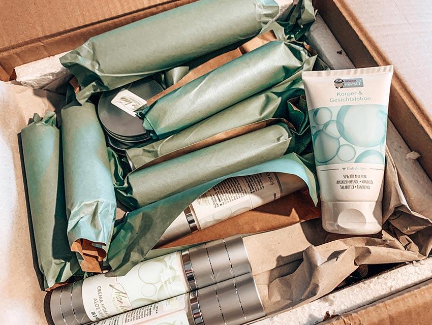 Aloe Vera Produktpaket - Mallorca Ausschreibung