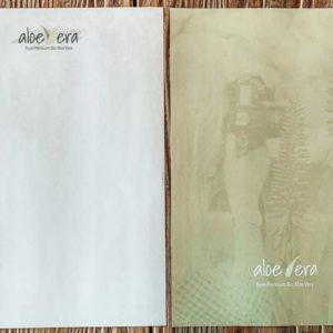 Aloe Vera Briefpapier DIN A4