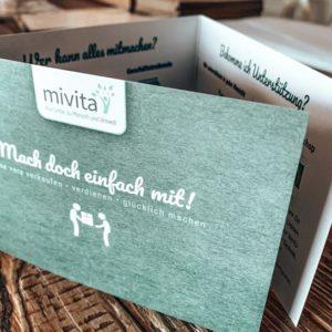 MIVITA Verkaufspartner Flyer 2 Seiten, DIN A5